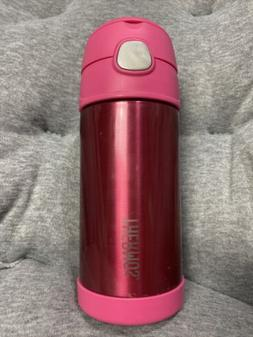 PINK THERMOS 12 OZ SIPPY CUP