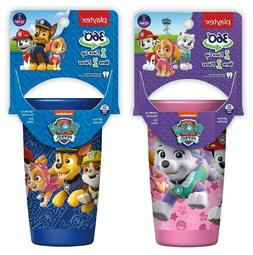 Pink or Blue Playtex 360° Stage 2 PAW PATROL Spoutless Sipp