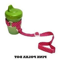 BooginHead Pink Polka Dot SippiGrip Baby and Toddler Grip St