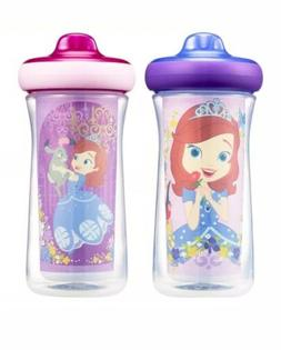 Disney/Pixar Insulated Hard Spout Sippy Cups 9 Oz, 2pk, With