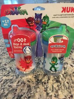 PJ MASKS Nuk Sippy Cup Spill Proof Insulated Hard Spout - 2