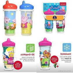 Playtex Sipsters Stage 3 Peppa Pig Insulated Sippy Cup, 9 Oz