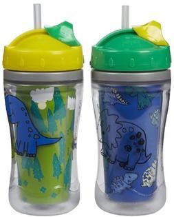 Playtex Baby Playtime Insulator Straw Cup - Girl - 9 oz - 2