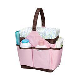 Munchkin Portable Diaper Caddy, Pink