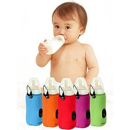 Portable Baby Infant Feeding Milk Food Bottle Thermal Warmer