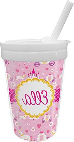 Princess Carriage Sippy Cup with Straw