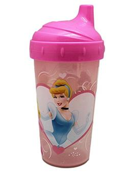 Disney Princess Pink Colored Translucent Sippy Cup