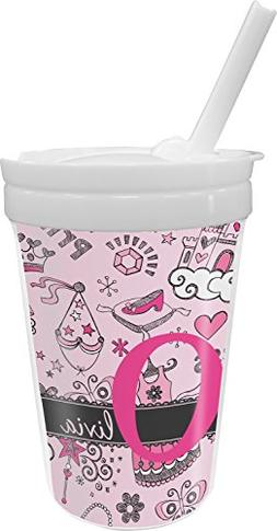 Princess Sippy Cup with Straw