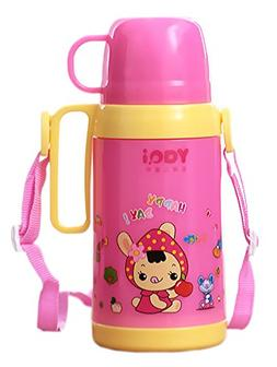 Rabbit Summer/Outdoor Leak Proof Drinking Sippy Bottle with