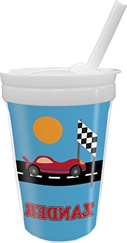 Race Car Sippy Cup with Straw