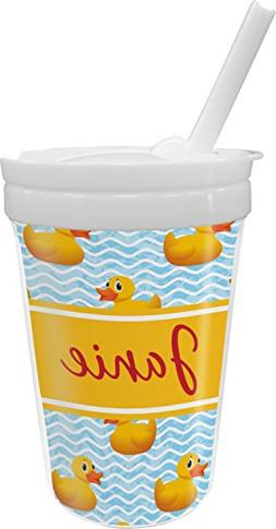 Rubber Duckie Sippy Cup with Straw