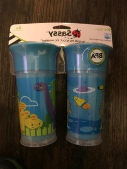 Sassy Insulated Spoutless Sippy Cup - 2 pack W