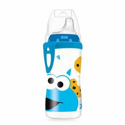 NUK Sesame Street Sippy Active Cup Bottle, Baby Feeding 10oz