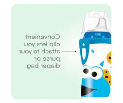 sesame street sippy active cup bottle baby