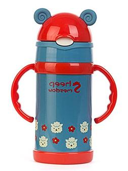 Sheep Meadow Vacuum Insulated Stainless Steel Sippy Cup with