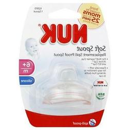 New  NUK Silicone Replacement Spout for Learner Cup & Active