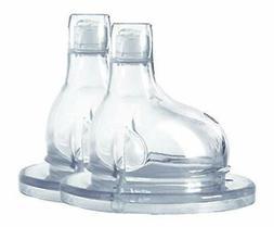 Pura Kiki XL Silicone Sipper Spout, 2/pack Plastic Free, Non