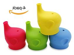 Silicone Sippy Cup Lids Elephant Silicone Spout Makes Cup in