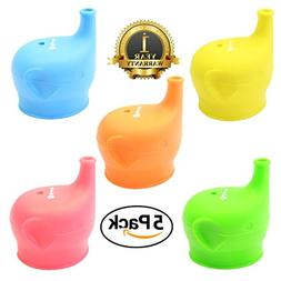 Silicone Sippy Lids USA Lab Tested for Kids/Toddler/Child Sa