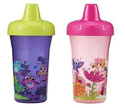 The First Years Simple Sippy Cup, Pink and Purple, 9 Ounce