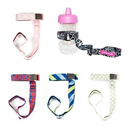 Booginhead Set of 5 SippiGrip Sippy Cup and Bottle Holder -