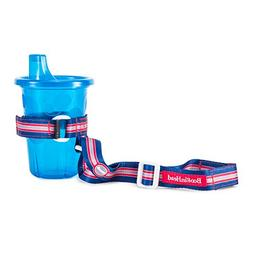 BooginHead SippiGrip Sippy Cup Strap- Blue/Red Race Car
