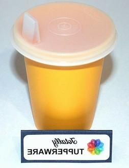 Tupperware Sippy Bell Tumbler 7 oz. Cup Flat Natural Sipper