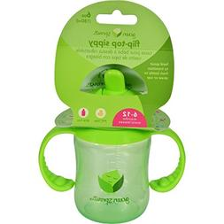 Green Sprouts Sippy Cup - Flip Top Green - 1 Count - Durable