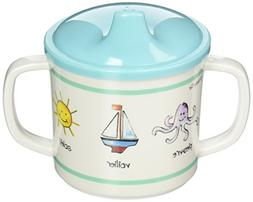 Baby Cie Sippy Cup - Ocean Animals - Aqua - 8 oz