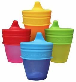 Sippy Cup Lids Silicone MrLifeHack 4pk Make Any Cup Bottle S