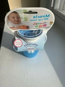 Munchkin Sippy Cup Miracle 360 No Spill Stopper  7oz New