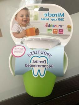 Munchkin Sippy Cup Miracle 360 No Spill Stopper Lid NUK Gree