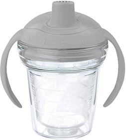 Tervis 1178383 Clear Tumbler with Wrap and Moondust Gray Lid