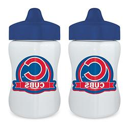 Baby Fanatic 2 Piece Sippy Cup, Chicago Cubs