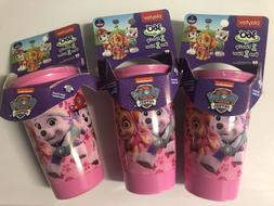 Playtex Sippy Cups Paw Patrol Girls Spoutless Sippy Cup Lot
