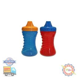 Sippy Gerber Cup Graduates Fun Grips Hard Spout 10 Oz 2 Cups