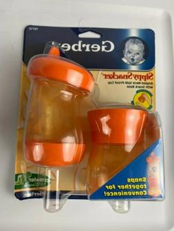 Gerber Sippy Snacker New Sealed cup