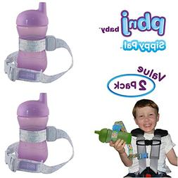 PBnJ Baby SippyPal Sippy Cup Holder Strap Leash Tether