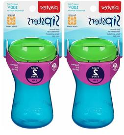 Playtex Sipsters Stage 2 Spill-Proof Leak-Proof Break-Proof