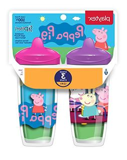 Playtex Sipsters Stage 3 Peppa Pig Spill-Proof, Leak-Proof,