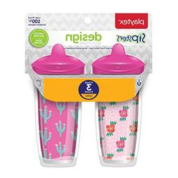 Playtex Sipsters Stage 3 Design Selections Spill-Proof, Leak