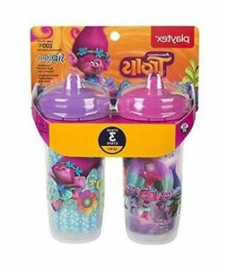 Playtex Sipsters Stage 3 Trolls Insulated Spout Sippy Cup, 9