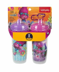 sipsters stage 3 trolls insulated spout sippy