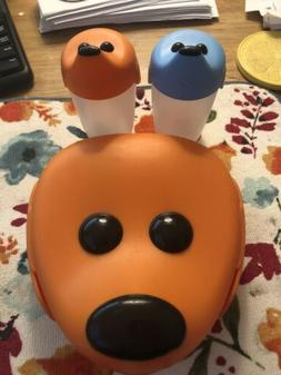 IKEA Smaska  Puppy Dog Face  Kids Lunch Box Container & Two