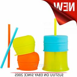 Boon SNUG Straw and Cup│Turns Your cup Into a Sippy│Spil