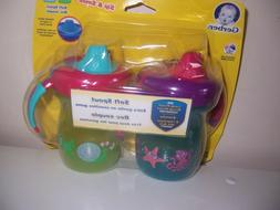 Gerber Soft Smile soft spout sippy cups new