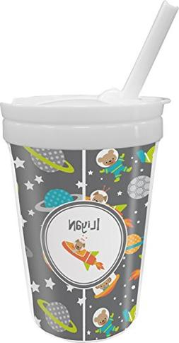 Space Explorer Sippy Cup with Straw