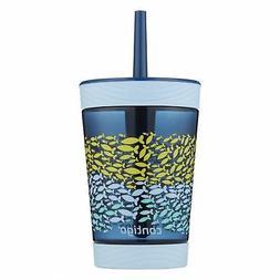 Contigo Spill-Proof Kids Tritan Straw Tumbler, 14 oz, Nautic