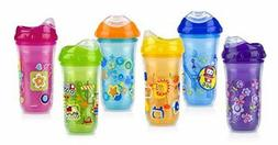 Nuby No-Spill Insulated Cool Sipper, 9 Ounce, Colors May Var