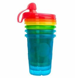 The First Years Spill-Proof Cups, Take and Toss, 10 Ounce,